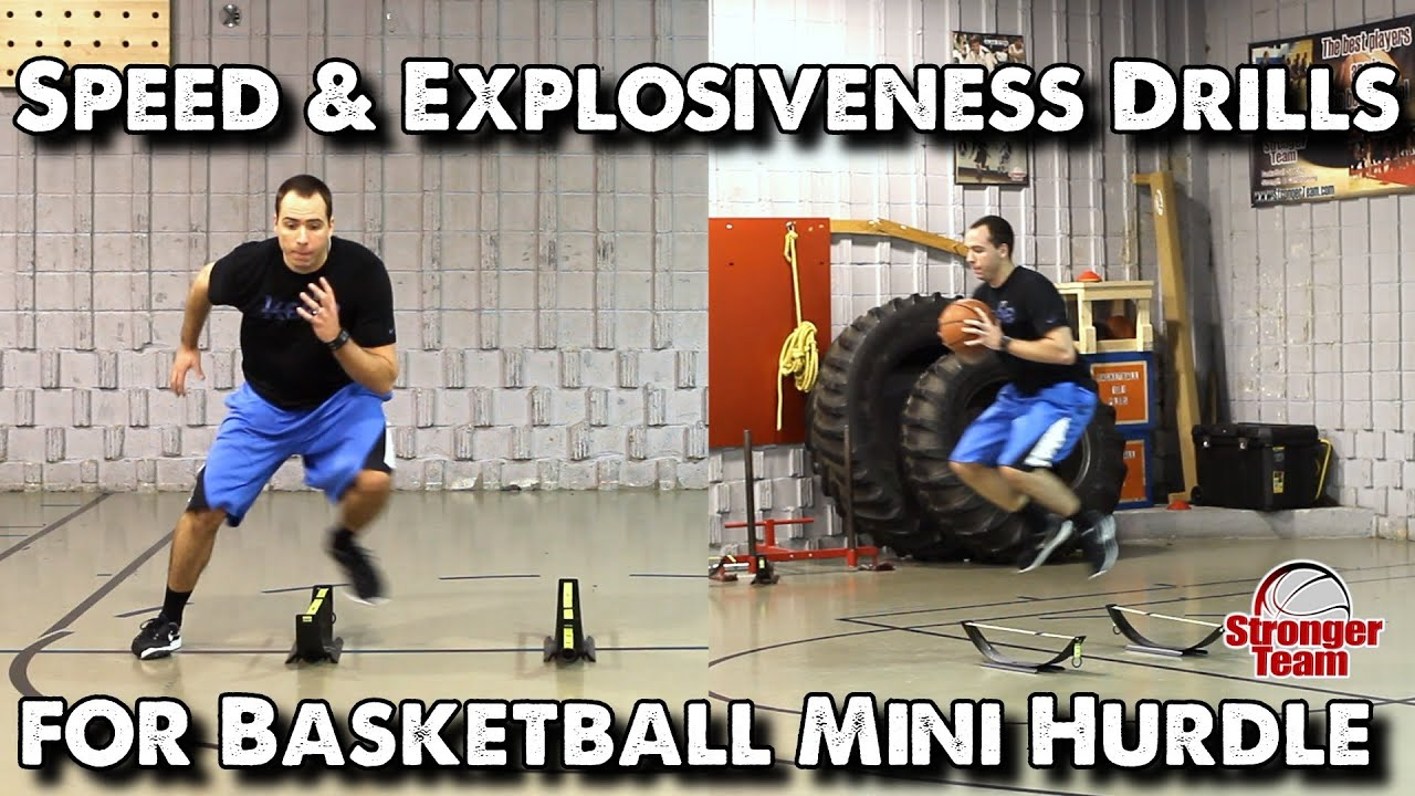 Speed & Explosiveness Drills for Basketball - Mini Hurdle ...