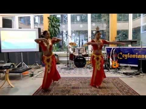 Nana Vile, SriLankan traditional dance  choreograph and dance by Hansi and Shesha Adikari