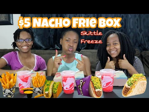 Taco Bell $5 Nacho Fries Box | Build Yours!