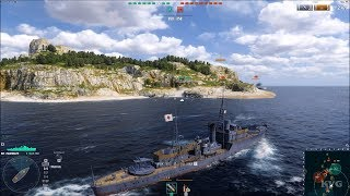 World of Warships (2020) - Gameplay (PC HD) [1080p60FPS]