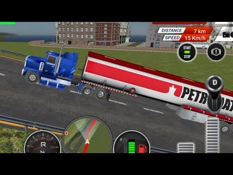 Oil Tanker Transporter Truck Driving Simulator 3D Games #2 Android Gameplay FHD #Free Game Download