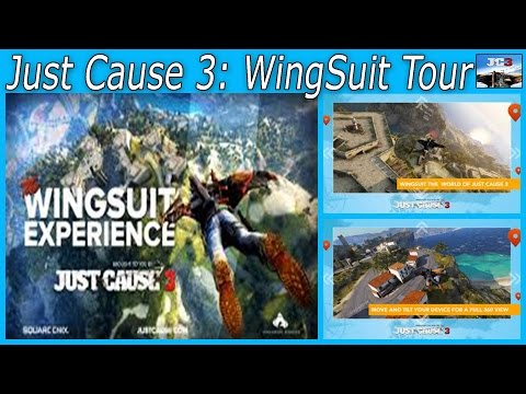 Just Cause 3: WingSuit Tour  ----  Virtual Reality app  -  HD