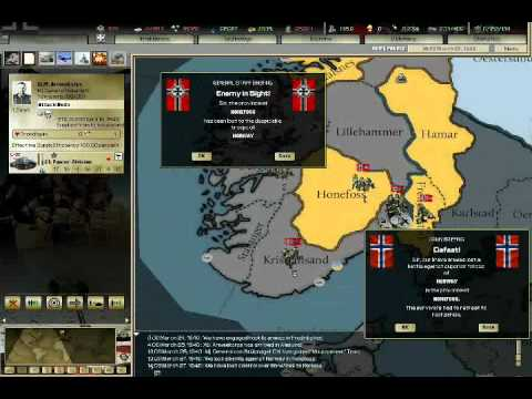 "Darkest Hour-Germany Campaign WW2-Part 4-""Operation Weserübung"""