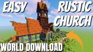 minecraft church easy build survival