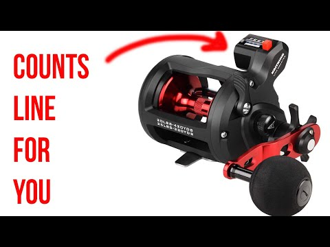 NEW! KastKing ReKon LINE COUNTER TROLLING REEL  - KastKing Fishing In Colorado