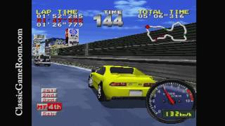 Classic Game Room - TOKYO HIGHWAY BATTLE review for PlayStation