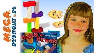 Make n Brake • Challenge • Buduj i burz na czas! • Ravensburger  • gry dla dzieci