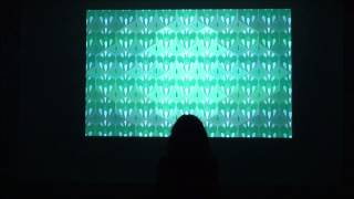 "Interactive Room Installation: ""Feeling, Color, Motion"""