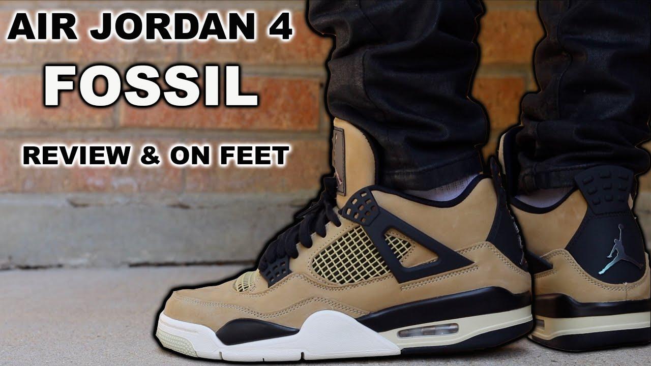 Air Jordan 4 Fossil (Mushroom) Review