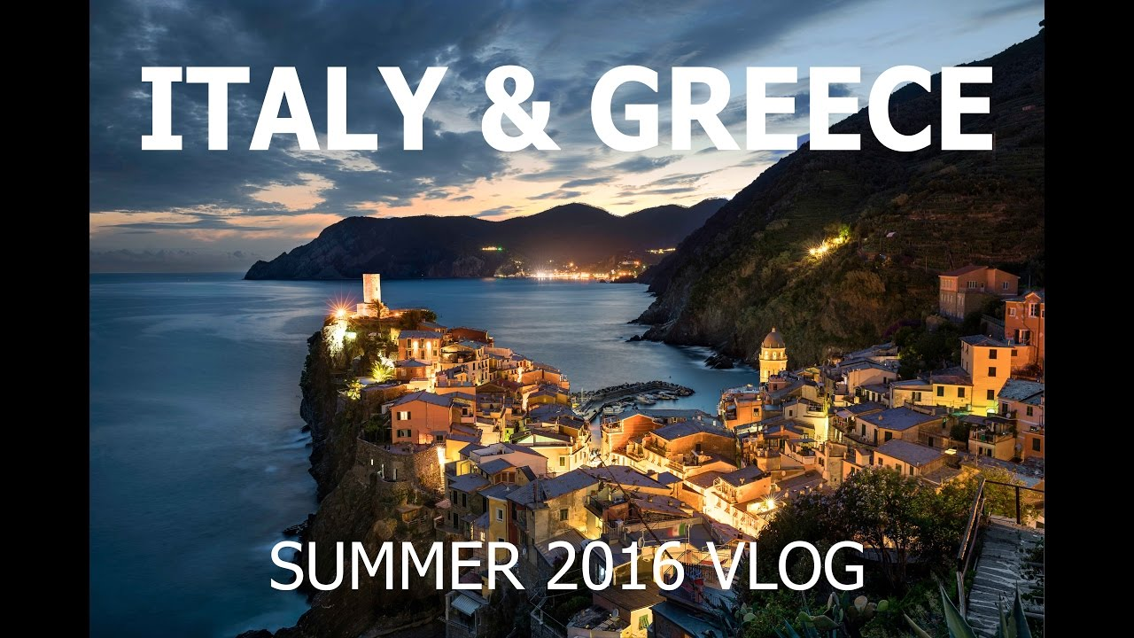 Italy and Greece Travel VLOG