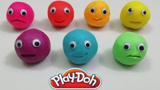 Learn Colors with Play Doh and Tea Pot Set Cookie Cutters