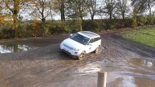 Range Rover Evoque 4x4 off road experience
