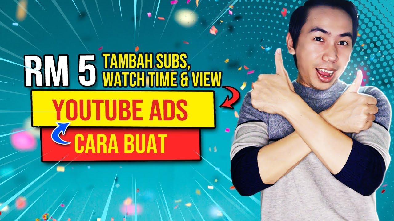 💰 cara buat iklan youtube 👉 cara buat youtube ads   sah dan berkesan 100%