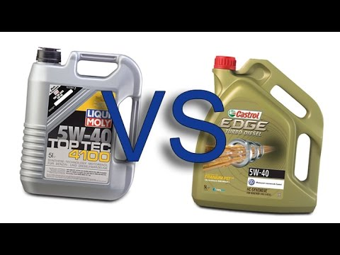 liqui moly top tec 4100 5w40 vs castrol edge fst titanium. Black Bedroom Furniture Sets. Home Design Ideas