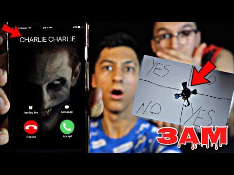 Thumbnail: DO NOT PLAY CHARLIE CHARLIE CHALLENGE WITH FIDGET SPINNER IN HAUNTED HOUSE AT 3AM!!! *OMG SO CREEPY*