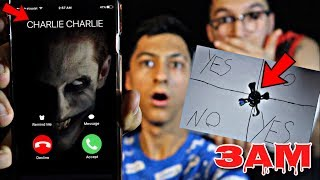 DO NOT PLAY CHARLIE CHARLIE CHALLENGE WITH FIDGET SPINNER IN HAUNTED HOUSE AT 3AM!!! *OMG SO CREEPY*