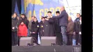 Vorbereitung in Ukraine auf Marsch der Millionen 1