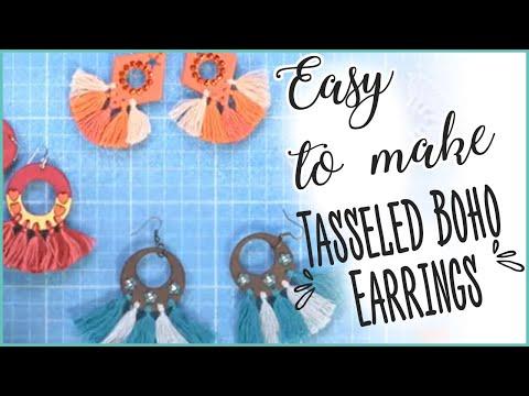 Tasseled Boho Earrings