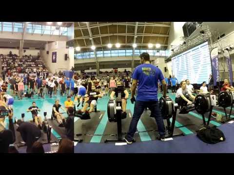 Indoor Rowing European Open Team Relay - 2017 Paris