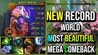 World Most Beautiful Comeback Ever - Anti Mage Unbelievable Mega Creeps Comeback in DotA 2 History