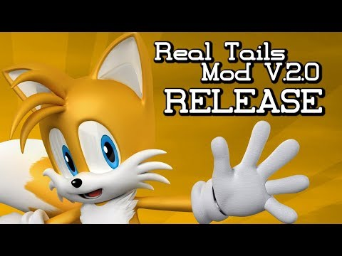 Sonic Generations - Real Tails Mod ver.2.0 - Release