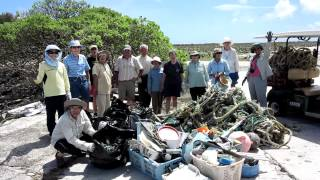Collection from Beach Cleanup on MIdway Atoll