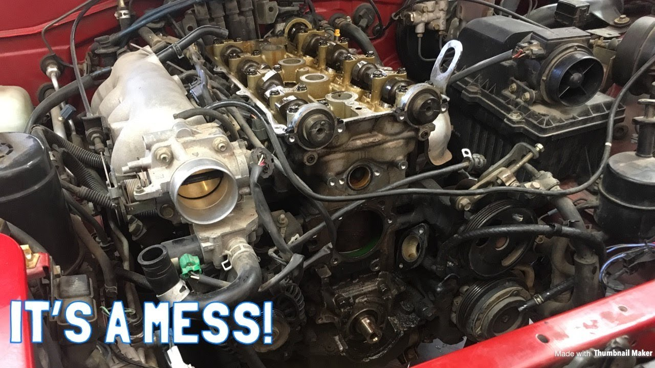 Miata Teardown Water Pump And Timing Belt Replacement Youtube 2000 Saab 9 3