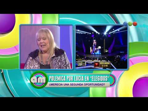 Polémica por Lucía de Elegidos, debate - AM 2015
