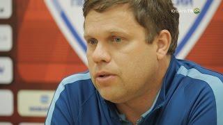 После матча: Владислав Радимов