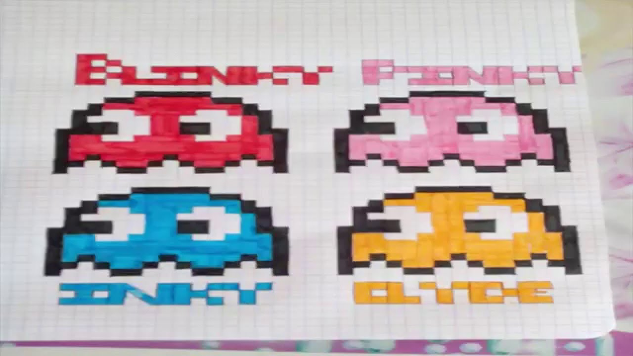 pixel art fantome