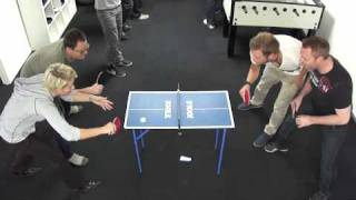 mini table tennis maybe the best in the world