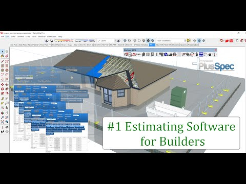 Easy Estimating Software for Residential Builders in 3D