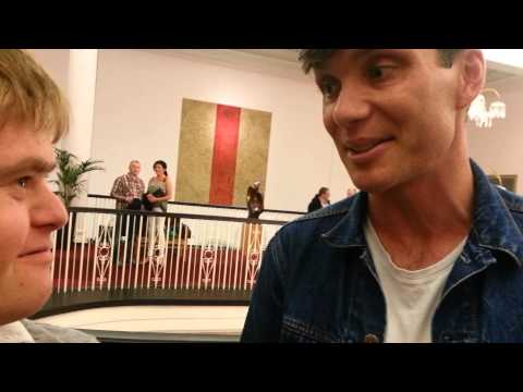 What do you love about your life, Cillian Murphy?