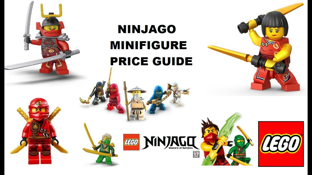 lego ninjago minifigures characters names price guide checklist youtube. Black Bedroom Furniture Sets. Home Design Ideas