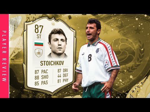 FIFA 20 Icon Stoichkov Review | 87 Base Icon Stoichkov Player Review Fifa 20