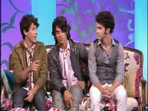 Jonas Brothers interview on Paul O'Grady Show (UK)