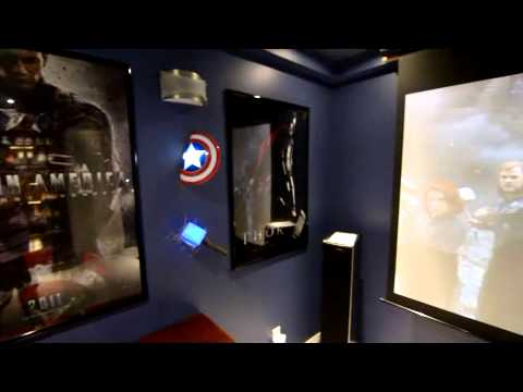 Avengers 3d light fx 2 youtube aloadofball