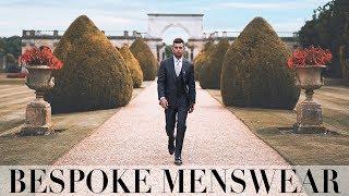 FINDING MY WEDDING SUIT | BESPOKE MENSWEAR | Ali Gordon