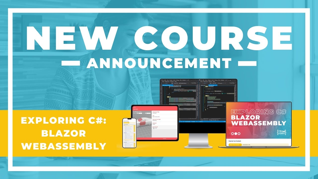 New Course Announcement! Exploring C#: WebAssembly