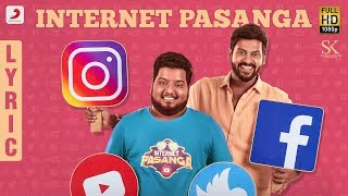 Nenjamundu Nermaiyundu Odu Raja - Internet Pasanga Lyric | Rio Raj | Shabir