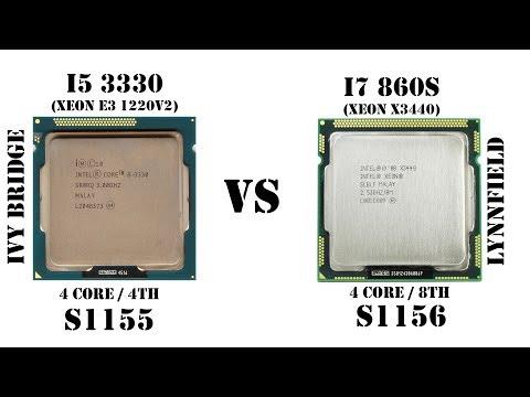 Так ли хорош Core i7 первого поколени� � ценником 23$?! Те�т �равнение Xeon X3440 vs Core i5 3330