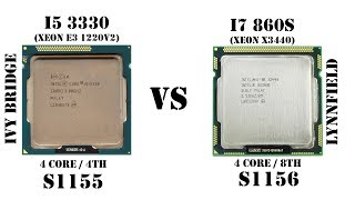 Так ли хорош Core i7 первого поколения с ценником 23$?! Тест сравнение Xeon X3440 vs Core i5 3330