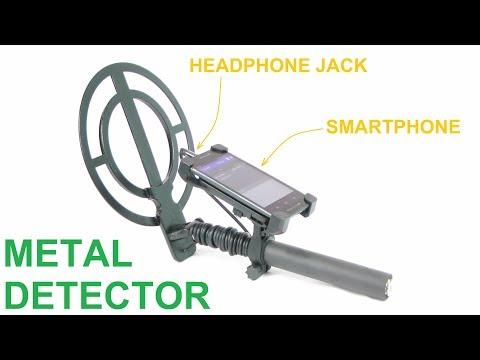 AKYOR CSP86, Smartphone Metal Detector, Android & iOS, Multi Frequency, Discrimination