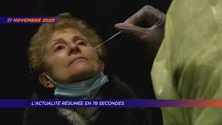 Yvelines | L'actu de la semaine en 78 secondes (du 16 au 20 novembre 2020)