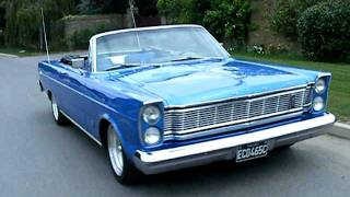 1965 Ford Galaxie convertible completed paintjob