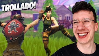 Avez-vous BEEN DECEIVED?! I GAVE VICTORY TO A BOT-FORTNITE