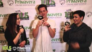 Charlie Puth Talks About Kissing Meghan Trainor & More at 2015 AMA's