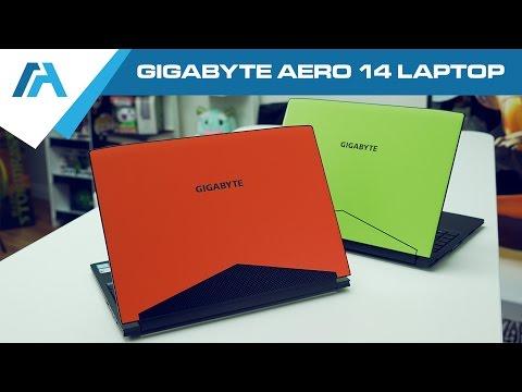 """GIGABYTE AERO 14 Laptop Review [14"""" Kabylake GTX 1060] Thin and light Gaming Laptop"""