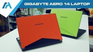 GIGABYTE AERO 14 Laptop Review [14″ Kabylake GTX 1060] Thin and light Gaming Laptop
