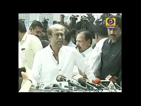 Tamil Film Actor Rajinikanth condols on Ambareesh Death